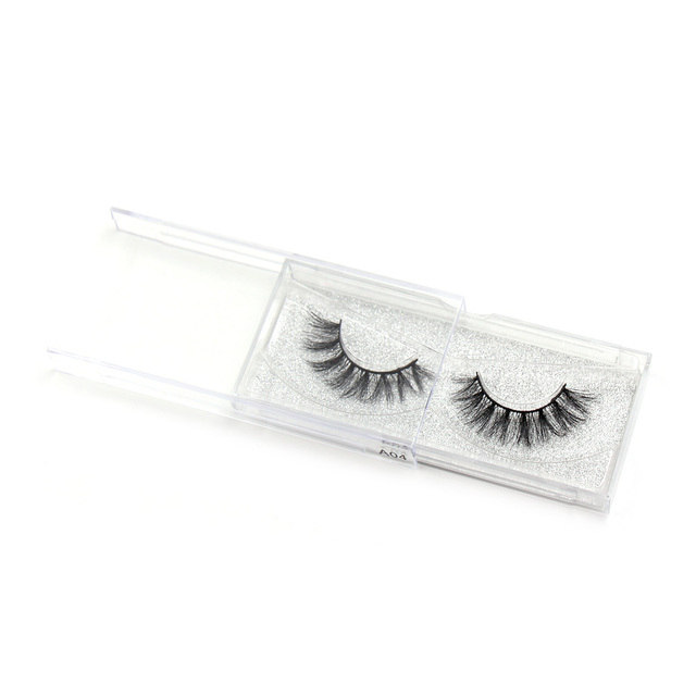 LEHUAMAO 3D Mink Eyelash Fluffy Cross Thick Natural Fake Eyelashes Lashes Dramatic Makeup Eye Lashes Handmade False Eyelash 6