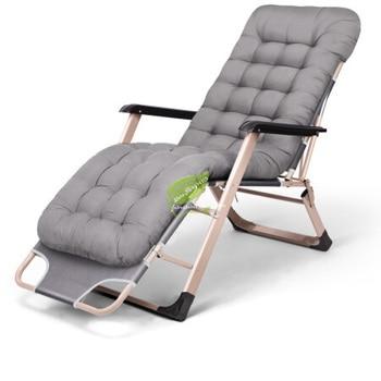 Silla plegable al aire libre para oficina en casa silla reclinable Tumbona...