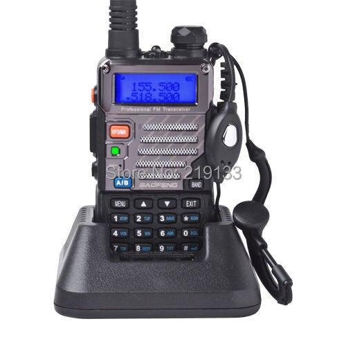 BAOFENG UV-5RE VHF/UHF double bande vhf uhf uv double bande 136-174/400-520 MHz FM Radio jambon 5 W 128CH FM VOX Radio bidirectionnelle LB0516