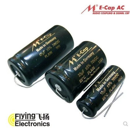 1bag/2pcs Mundorf MCap Capacitor Ecap1uf~330uf Electrodeless Electrolysis For Frequency Division Output