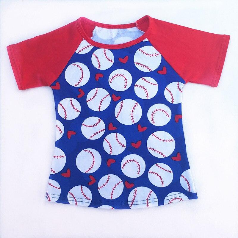 Raglan Shirt Toddler Wholesale Cotton Summer Unisex Bulk Baseball Boutique