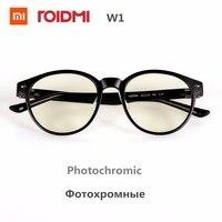 Original Xiaomi Mijia ROIDMI W1 Anti Blue Rays Photochromic Protective Glasses Eye Protector For Play Sport