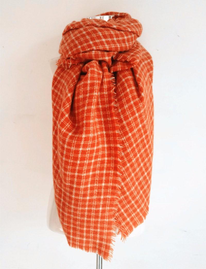 Oversize Plaid Blanket Scarf | Blanket Scarves