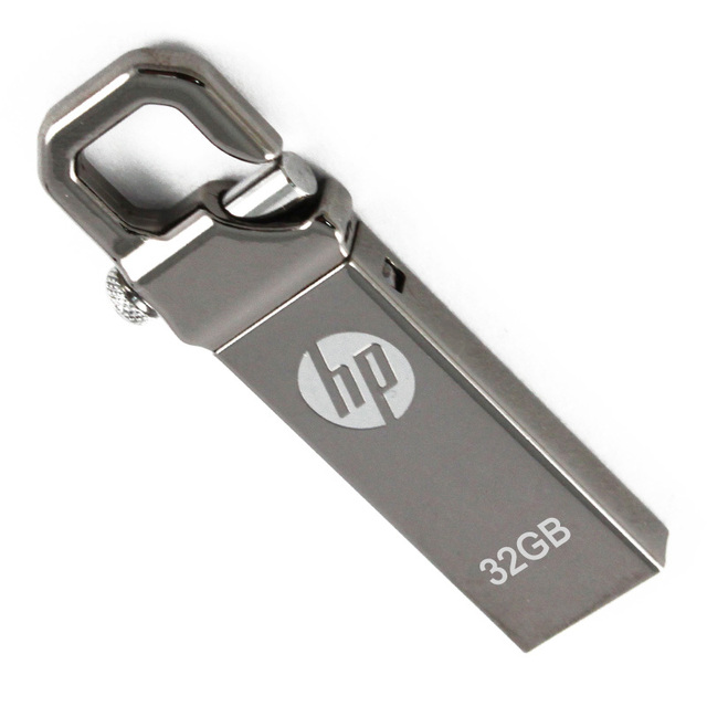 Hp v250w usb flash drive 32 gb usb flash drive usb disco 32 gb pen drive pendrive regalo del coche personalizado