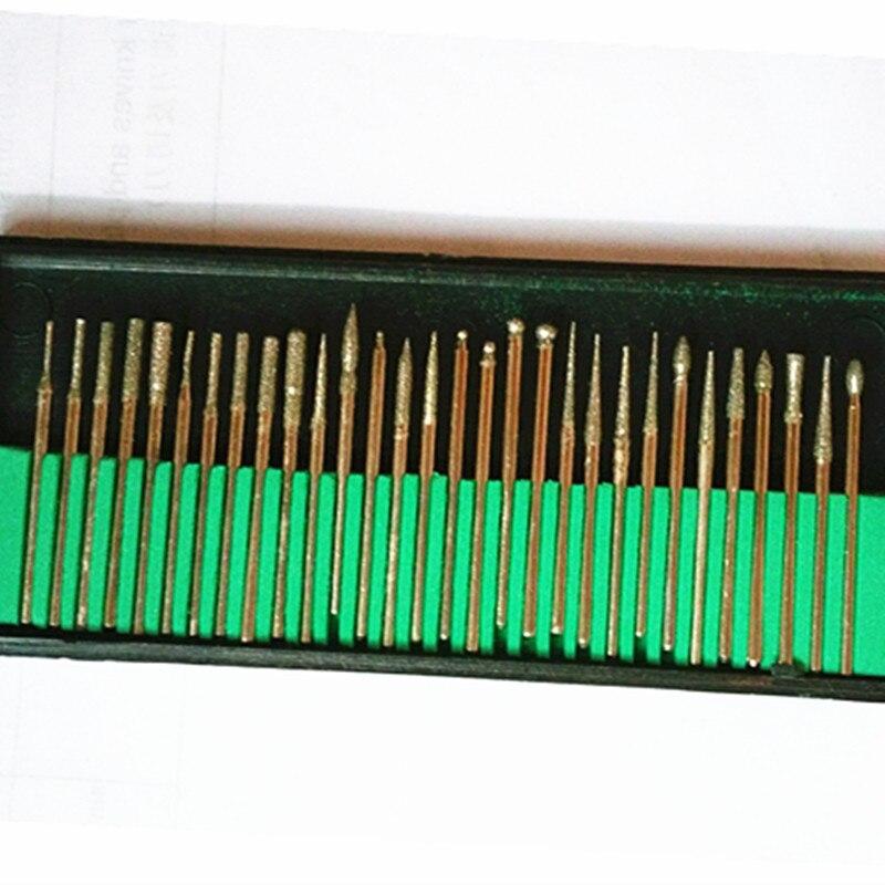 300ชิ้น/ล็อตทันตกรรมBurบิตชุดเพชรบดเครื่องบดเจาะทันตกรรมเพชรBurก้านDia. 2.35มิลลิเมตรอัญมณีทันตแพทย์เครื่องมือ-ใน อุปกรณ์ฟอกฟันขาว จาก ความงามและสุขภาพ บน   1
