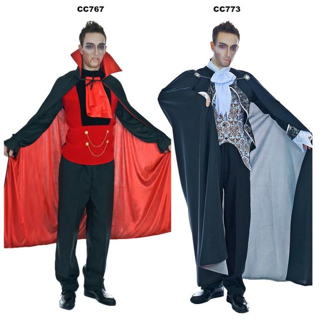 QLQ Homme Vampire Costume Halloween Party Cosplay Médiévale Renaissance  Costume Vampire Halloween Party Cosplay Vampire Costumes
