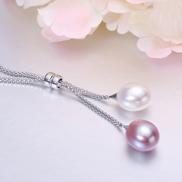 Freshwater Pearl 925 Sterling Silver Necklace