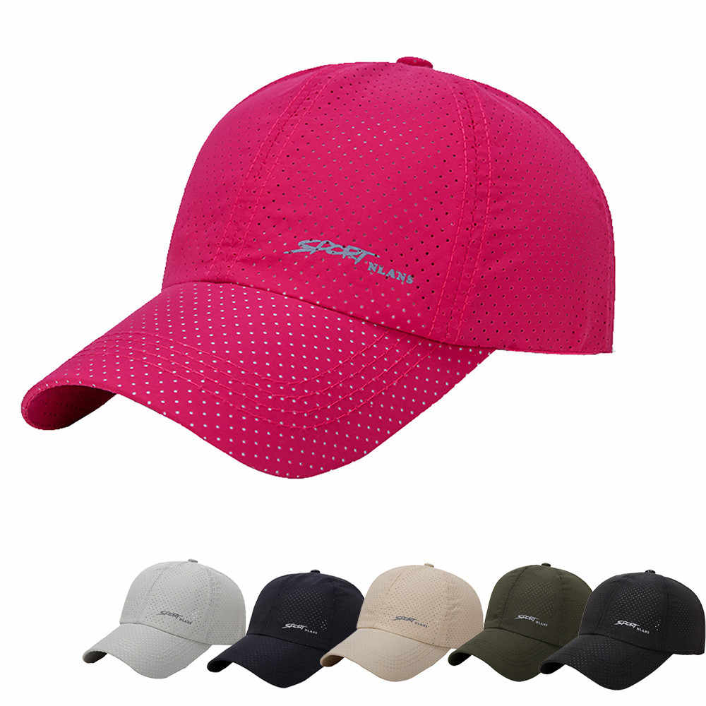 Running Caps Fashion Hats For Men Women Casquette For Choice Utdoor running Sun Hat breathable outdoor summer