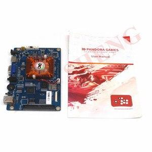 Image 2 - 2448 ב 1 משחק קונסולת PCB 3D ארקייד מכונה לוח תמיכת VGA HDMI עבור HD וידאו משחקי קונסולת פנדורה אוצר