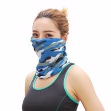 Bandana Camo Headwear Bandanas Sport Men Women Camouflage Head Scarf Cycling Shemagh Face Mask Balaclava Tactical Neck Warmer