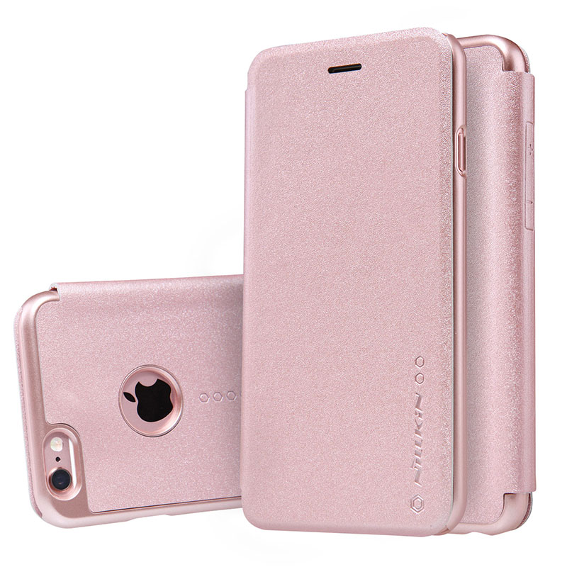 new arrivals d5d93 ccb46 US $11.99 |NILLKIN NEW LEATHER CASE Sparkle Flip PU Leather Case For Apple  IPhone 6 6s (4.7