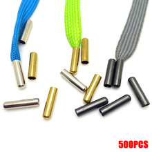 4X20mm Metal Head Shoe Accessories for Shoelaces Tip Replacement Bullet Aglets Tips Shoe Laces Shoe Decorations Rope Head darseel shoe accessories shoelaces tax