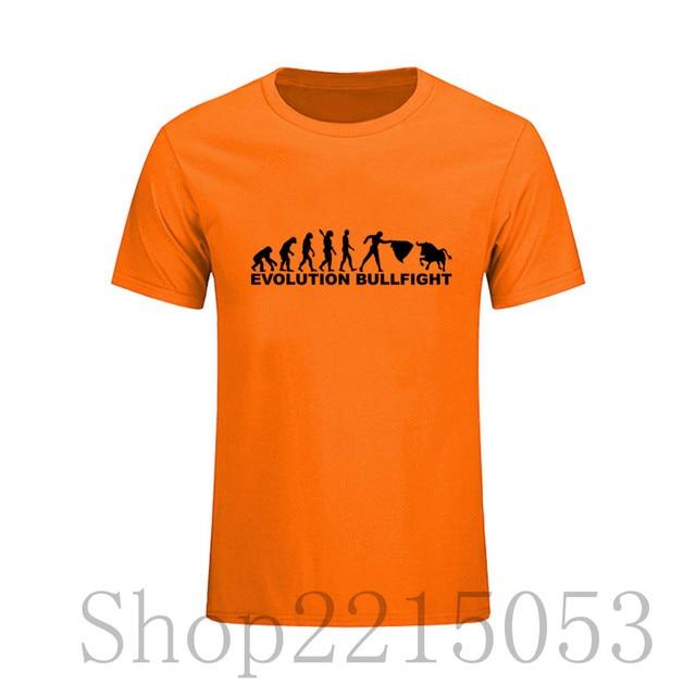 Encargo Españoles taurino Personalizada Los de Toreo 2018 Trabajo De T Hombres Camiseta evolución Camisa masculino XZwHYOB