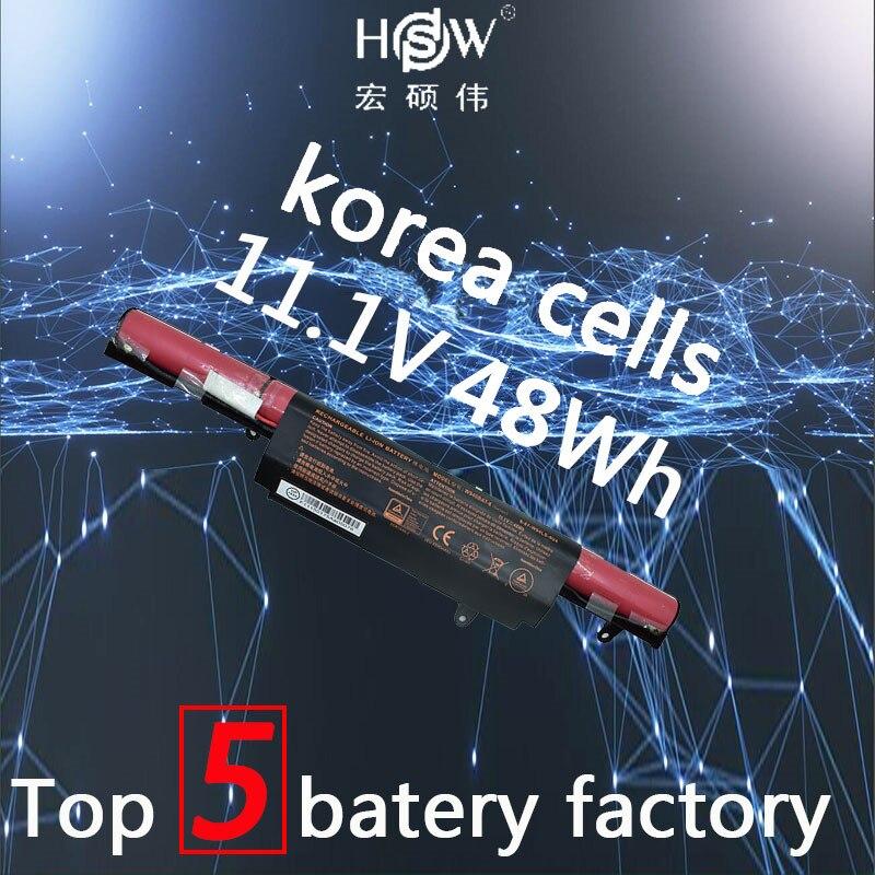 HSW 11.1 v 48WH Batterie 6-87-W940S-4271 W940BAT-6 W940BAT-3 pour CLEVO Prime Tv Xs3210 W940S bateria akku