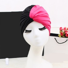 1PCS 2018 Swim Pool Splice flower Swimming Cap elastic Hat for Women Bathing caps for Long Hairs splice Ear Protection FREE SIZE 2018 mix color flower women swimming cap for long hair ear protection swim caps lady womens girls swimwear pool hat large size