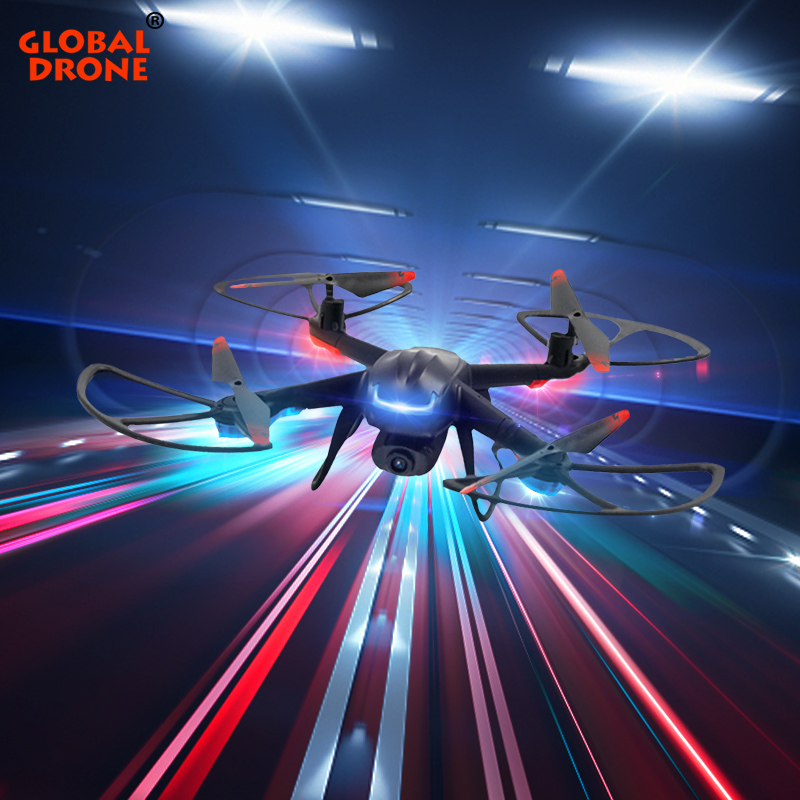 Global Drone GW007 3 Profissional Quadrocopter Dron FPV Mini Quadcopter Toys for Boys RC Drones with