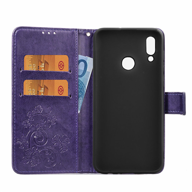For Huawei Honor 10 Lite Case Soft Silicone PU Leather Phone Case For Huawei Honor 10 Lite Cover For Honor 10 Lite Case BSNOVT in Flip Cases from Cellphones Telecommunications