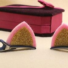 Girls Hair Clip Lovely Cat Ear
