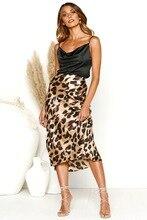 leopard skirt harajuku women skirts gothic 2019 fashion plus size womens pink casual korean new