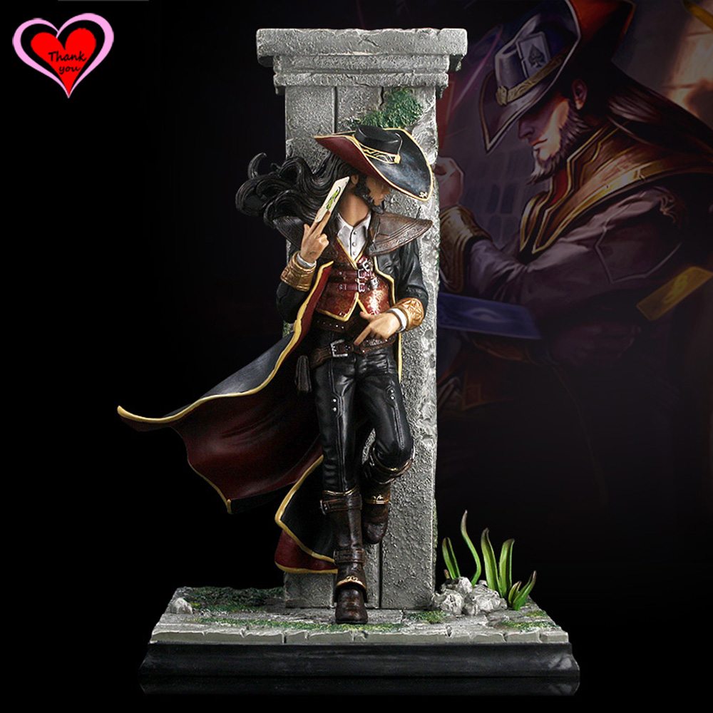 Love Thank You LOL The Card Master Twisted Fate Toy Collection model gift New Hobby