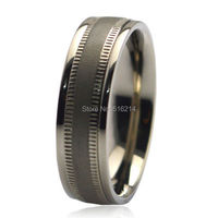 7MM Men S New Wide Tribal Barbed Wire Pure Titanium Wedding Band Ring Sizes 7 12