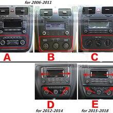 Полный набор автомобильных наклеек из углеродного волокна для 2006-2011 2012-- VW Volkswagen Jetta MK6