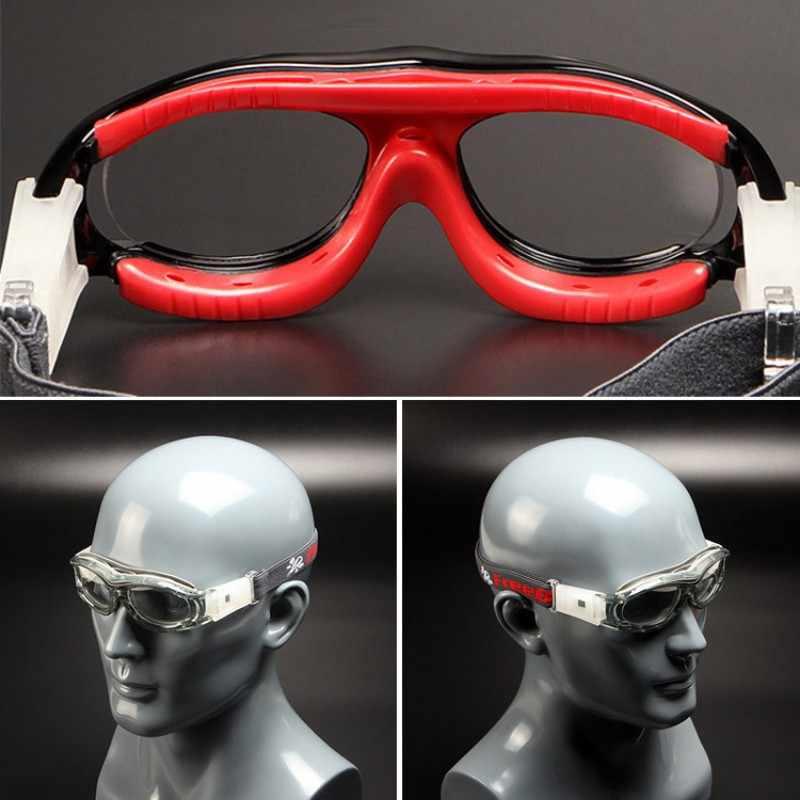 32866bf16845 ... Professional Children Kids Sport Goggles Frame Prescription Outdoor  Sport Soccer Ball Basketball Safety Glasses for Children ...