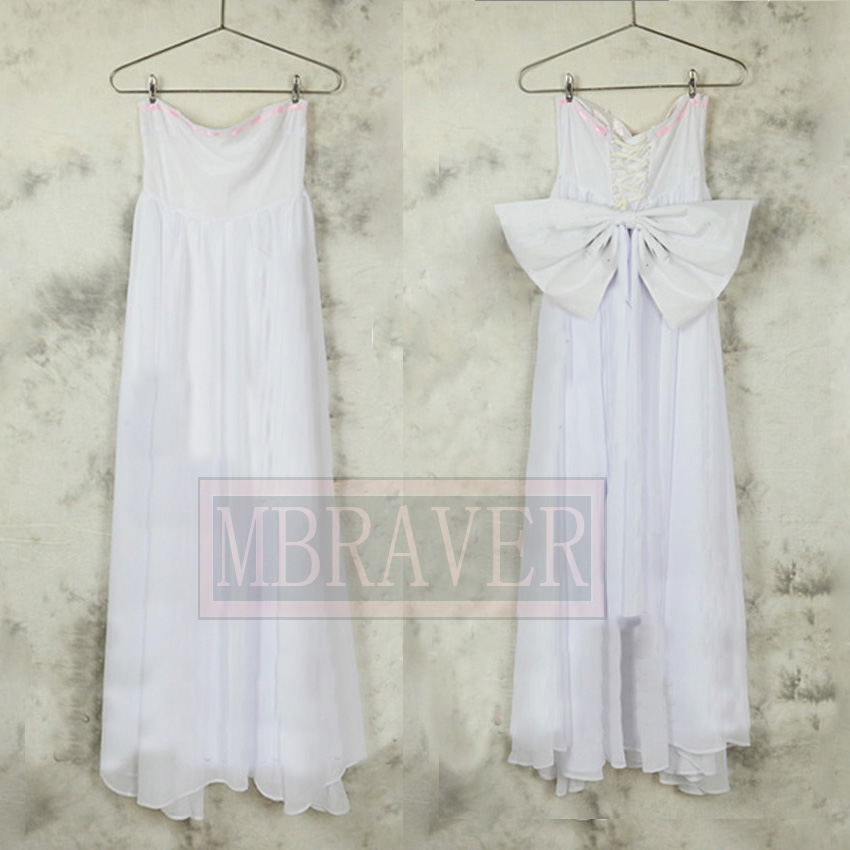 The Seven Deadly Sins Elaine Cosplay Costume White Dress Custom Made Any Size
