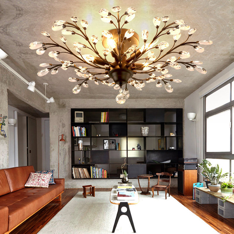 Licht & Beleuchtung Deckenleuchten & Lüfter Land Stil Led Oberfläche Montiert Decke Lampe Für Zu Hause Esszimmer Wohnzimmer Schlafzimmer Ac110 220 V Erhältlich Led Decke Lichter