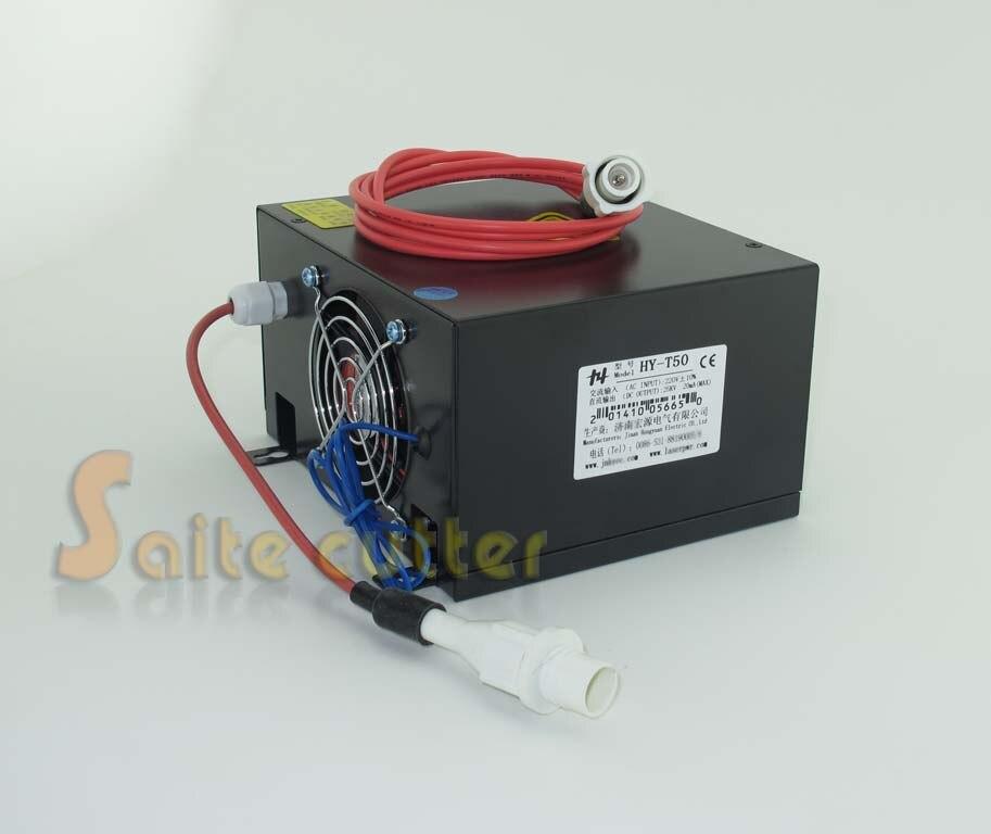 Pro 50W 40W 30W Co2 Laser Source Tube Switch Power Supply Laser Engraver Cutter цена