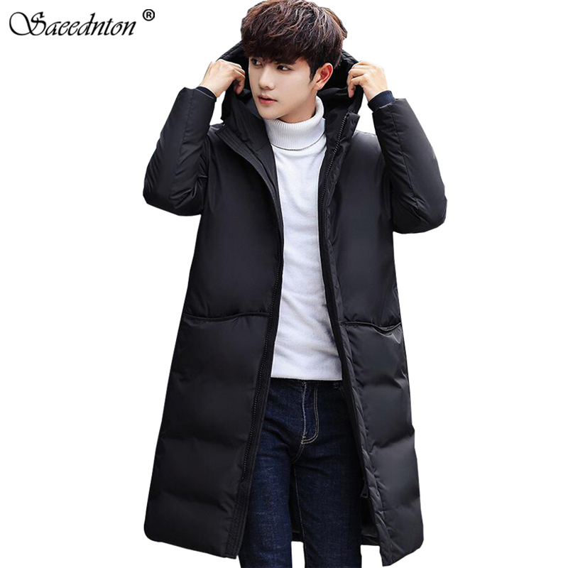 2019 High Quality 90% White Duck Thick Down Jacket Men Coat Snow Parkas Male Warm Brand Clothing Winter Down Jacket Outerwear(China)