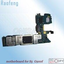 Raofeng высокого качества для Samsung Galaxy S5 G900f материнская плата в разобранном виде весь функция плата с логика чипа доска