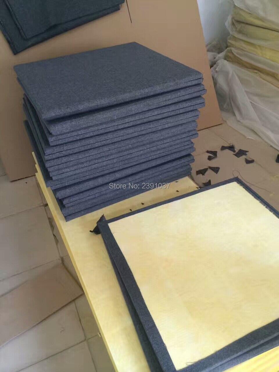 120x30x2.5cm Linen Acoustic panel Fiberglass Acoustic Soundproof ...