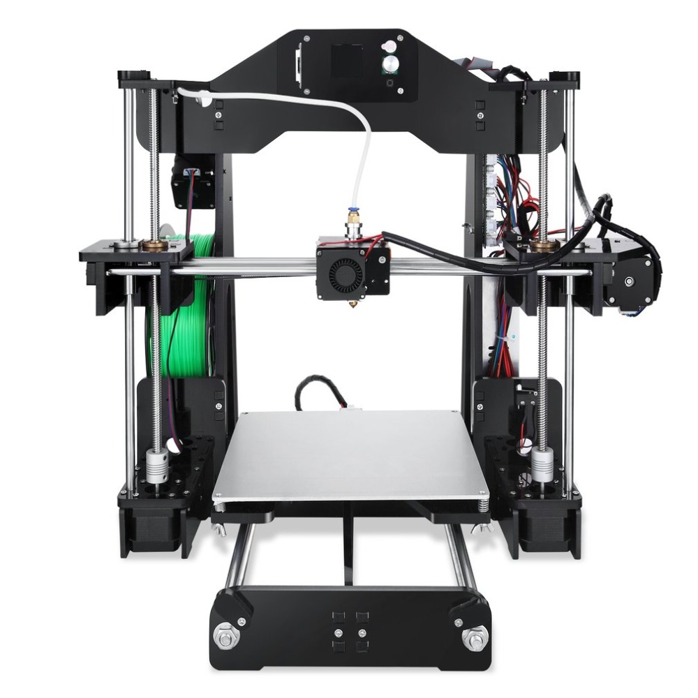 1.44 Inch LCD Display 3D Printer 2 in 1 Laser Engraving Machine PLA ABS Filament 3D Printer with Cooling Fan