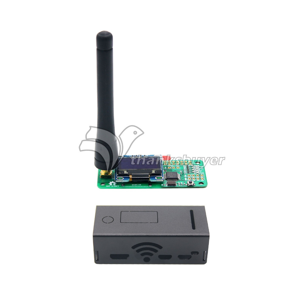 где купить MMDVM Hotspot Module with OLED and Antenna Case Support P25 DMR YSF for Raspberry pi Walkie Talkie Robot дешево