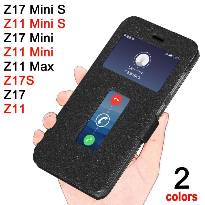 wholesale dealer f5480 b1eb4 ZTE Nubia Z11 max Case Leather Windows Style case for ZTE Nubia Z11 mini s  Z 11 cover Luxury ZTE nubia z17 mini s Zte Z17s case