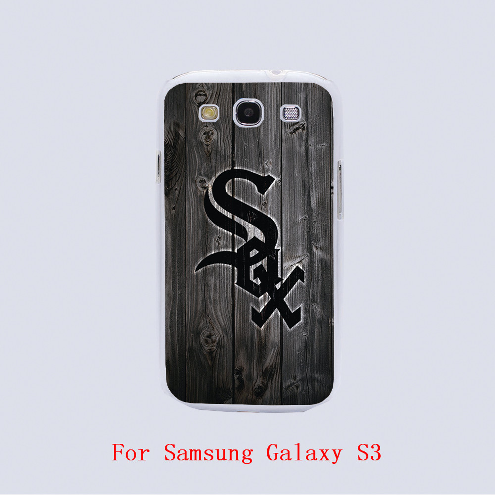 online buy whole chicago black sox from chicago black chicago white sox design black skin phone cover cases for samsung galaxy s3 9300 s4