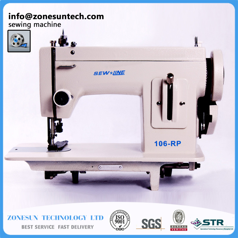 SEW LINE 106-RP Household sewing machine, fur,leather,fell clothes thicken sewing machine.Thick fabric material sewing machine швейная машина janome sew line 500s белый sew line 500s