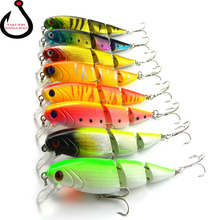 10.5cm 14g Fishing Lures Multi Section Bend Available Halleluyah Colorful High Simulation Fake Bait Fishing Accessories LD-122