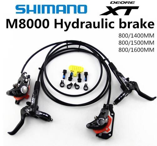 NEW SHIMANO DEORE XT M8000 Brake Mountain Bike XT Hidraulic Disc Brake MTB ICE-TECH Left & Right 800/1400mm
