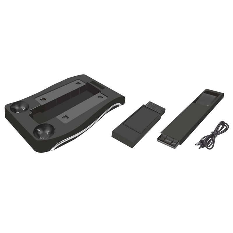 1 шт. геймпады зарядная станция станции Подставка держатель с светодио дный индикатор для PS4 VR PS Move игры колодки игровые контроллеры аксессуары