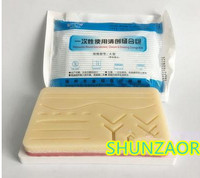 Large Premium 3 Layer Suture Practice Pad W Wounds On Sturdy Base 6 8 X