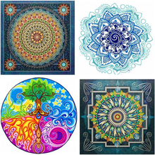 Diamond Painting Mandula 5D Diy Draw Various Drill, Resin Embroidery Cross Stitch, Room Decoration.LUOVIZEM L229