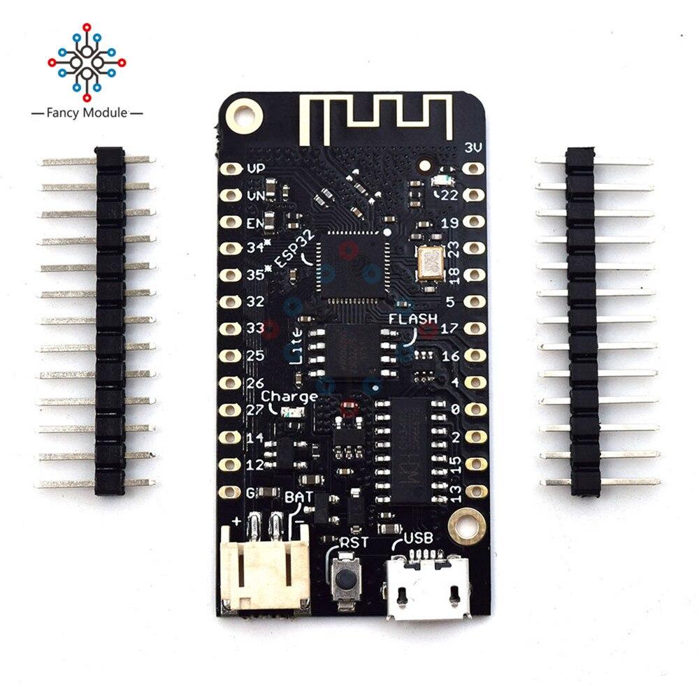 Pour WEMOS Lite V1.0.0 Wifi Bluetooth Conseil de Développement Antenne ESP-32 ESP32 CH340 CH340G Rev1 MicroPython 4 mb Micro USB