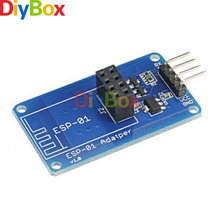 ESP8266 ESP-01 Serial WiFi Wireless Adapter Module 3.3V 5V Esp01 Breakout PCB Adapters Compatible For Arduino(China)