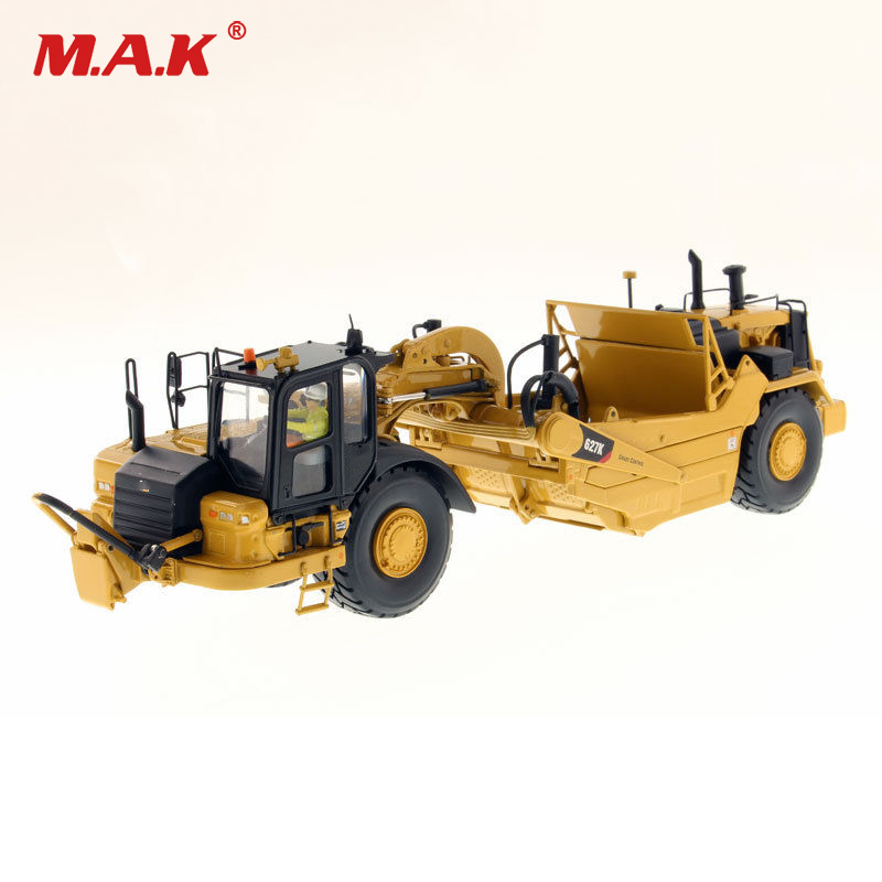 Collection Diecast Bulldozer Model 1/50 Scale 627K Wheel Tractor-Scraper-High Line Series 85921 Diecast Model