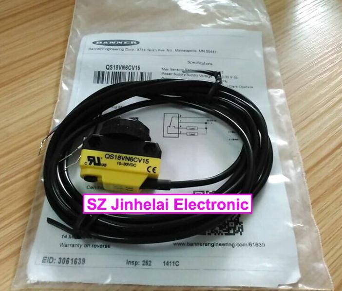 New and original QS18VN6CV15, QS18VP6CV15 BANNER Photoelectric switch, Photoelectric sensor new and original qs18vn6d banner photoelectric switch photoelectric sensor