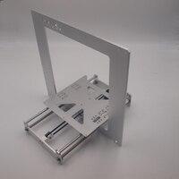 3D принтер рамка совместим с Reprap Мендель Prusa i3 кадров чехол 6 мм Толщина окисление алюминиевого сплава металлический корпус