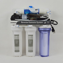 Undersink Type 5 Stage Househould Reverse Osmosis System 75GPD/American Standard plug/Power 110 – 120V