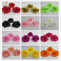 1000pcs Mini Artificial Flowers Silk Roses Heads For Wedding Decoration Party Fake Scrapbooking Floral Wreath Home Accessories